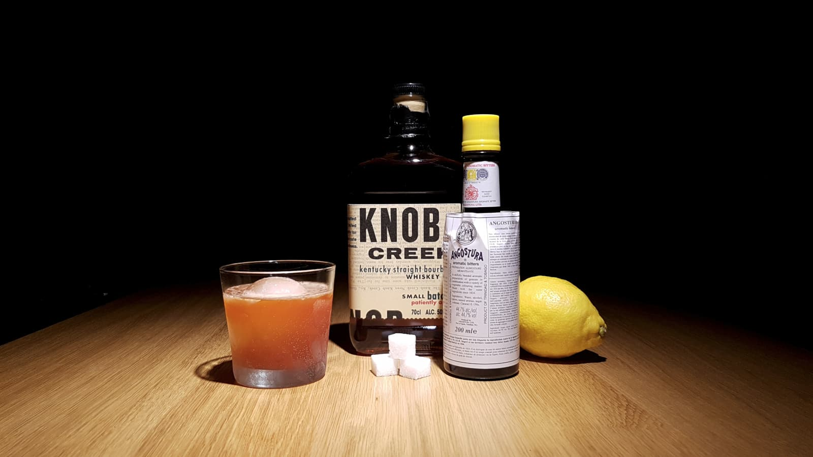 Bittered Bourbon Sour.