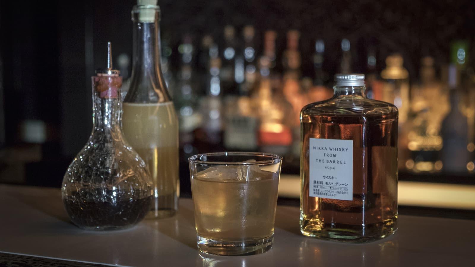 Improved Japanese Cocktail. Beitragsbild. © Le Lion - Swetlana Holz.
