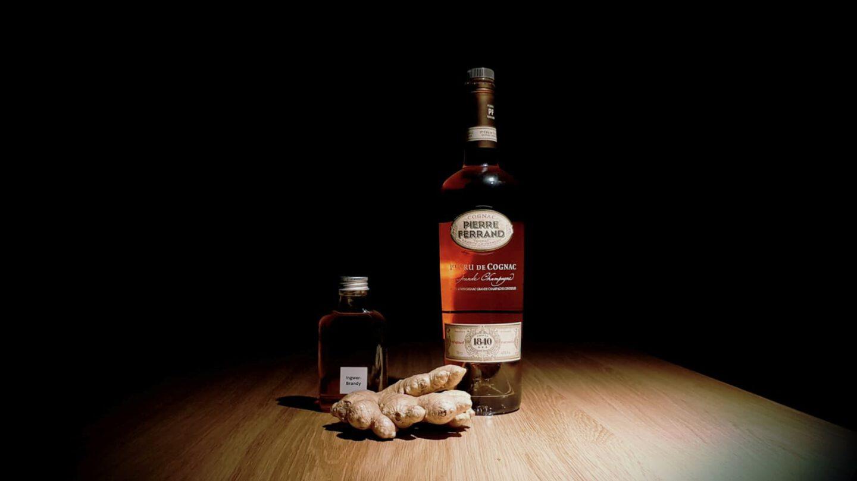 Ingwer-Brandy.