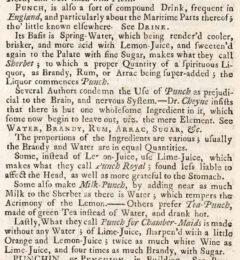 Ephraim Chambers: Cyclopaedia, 1728, Seite 910.
