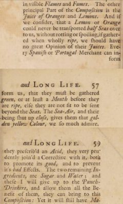 George Cheyne: An essay of health and long life. 1724, Seite 56, 57, 59.