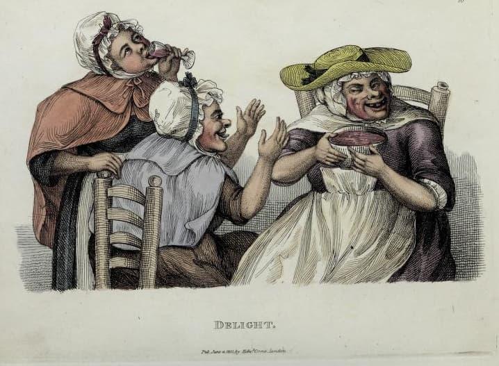 Timothy Bobbin - Delight. 1810.
