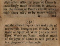 W. Hughes: The American physitian, 1672, Seite 49-50.
