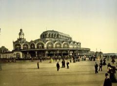 Der Kursaal in Oostende, um 1895.