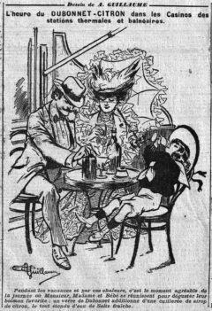 Dubonnet Citron - Le Matin vom 5. August 1904, Seite 6.