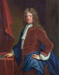 Edward Russell, um 1715.