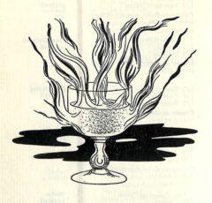 1949 Emile Bauwens. Livre de Cocktails. Seite 54. Manhattan Cocktail (sec).