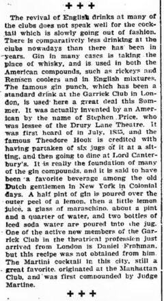 About Clubs and Clubmen. The New York Times, 24. Juli 1904.