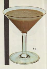 Alexander Cocktail. Harry Schraemli, Manuel du bar, 1965. Seite 344.
