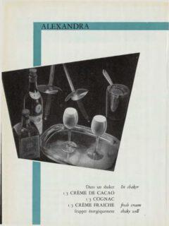 Alexandra. Marcel Pace, Nos Meilleures boissons, 1954. Seite 69.