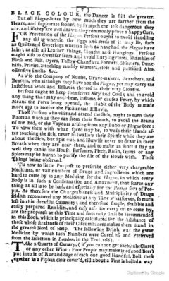 Anonymus, 1722 - The late dreadful Plague. Seite 7.