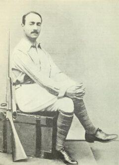Arnold Henry Savage Landor, vor 1905.