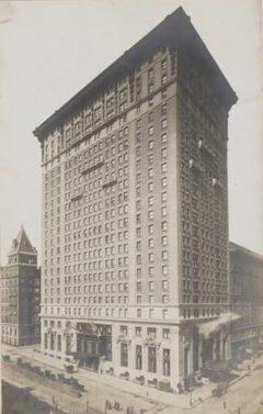 Belmont Hotel im Jahr 1908.