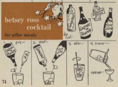 Betsy Ross. Robert H. Loeb, Nip Ahoi, Seite 74, 1954.