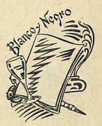 Blanco y Negro Cocktail. Pedro Chicote, La ley mojada, 1930, Seite 109.