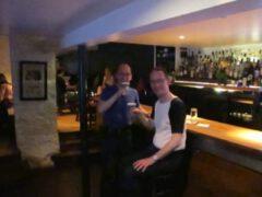 Zwei Purple Birds in der Bramble Bar, 6. Juni 2013.