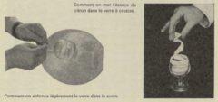 Brandy Crusta. Harry Schraemli, Manuel du bar, 1965. Seite 319.