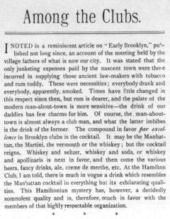 Brooklyn Life, 2. April 1892, Seite 15.