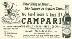 Campari Cocktail. The New Yorker, 13. Oktober 1956, Seite 199.