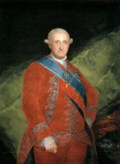 Carlos IV., König von Spanien, 1789.