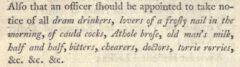 Cauld cocks. William Creech, Edinburgh Fugitive Pieces, 1791, Seite 58.