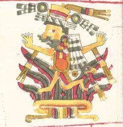 Mayahuel, aus dem Codex Borgia.