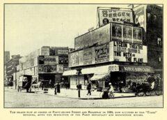 Ecke 42nd Street - Broadway, 1898.