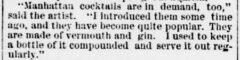 Evening Star, 4. Dezember 1883, Seite 7. Life in Chicago. Ausschnitt.