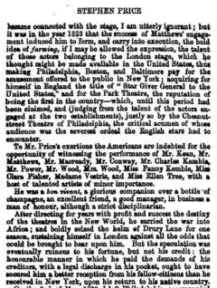 Francis Courtney Wemyss: Theatrical Biography, Glasgow 1848, Seite 79.