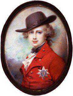 George IV im Jahr 1780.