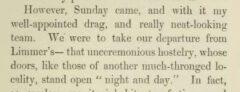 George John Whyte-Melville: Tilbury Nogo. London, 1854. Seite 221.