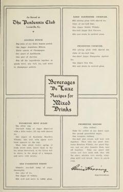 George R. Washburne & Stanley Bronner, Beverages De Luxe, 1911, Seite 61.