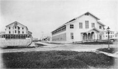 Georgetown Club um 1870.