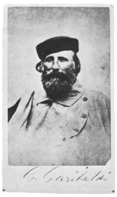Giuseppe Garibaldi im Jahre 1870.