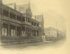 Das Grand Hotel in Yokohama, um 1908.