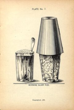 Harry Johnson, 1900, New and Improved Bartender's Manual, Seite 111 - Morning Glory Fizz.