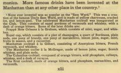 History of the Manhattan Club. Seite xlii.