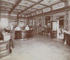 Hoffman House Hotel, Bar um 1898.