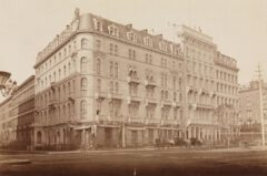 Hoffman House Hotel, um 1875.