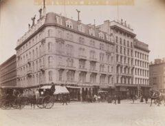 Hoffman House Hotel, um 1889.