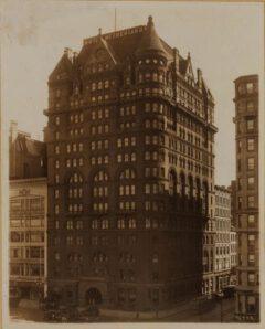 Hotel Netherland, um 1923.
