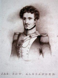 James Edward Alexander.