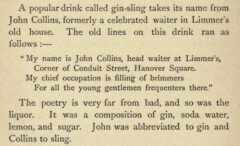James Mew: Drinks of the World. 1892, Seite 140.