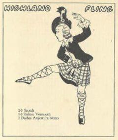 Jean Robert Meyer- Bottoms Up. 1934. Seite 23. Highland Fling.