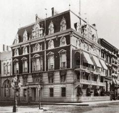 Jerome Mansion um 1877.