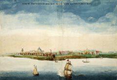 Johannes Vingboon - Niew Amsterdam 1664.