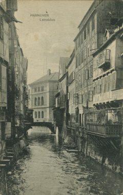 Karl F. Wunder: Hannover Leineinsel, um 1900.