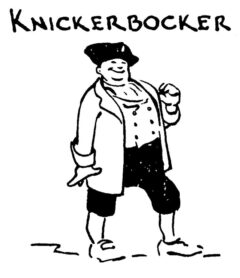Knickerbocker (von Tad Shell, in Whitfield: Here's How, 1941).