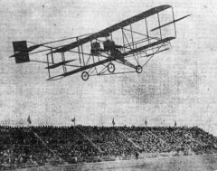 Los Angeles Flugschau am 12. Januar 1910.