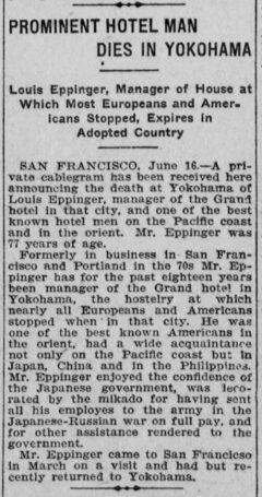 Los Angeles herald, 17. Juni 1908, Seite 5.